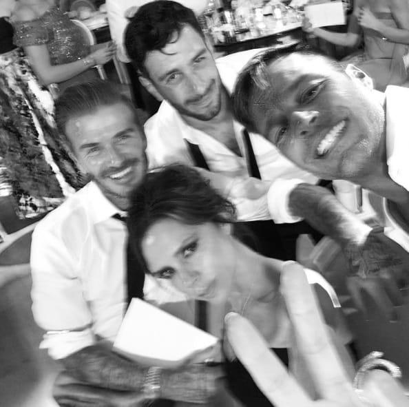 Les Martin et les Beckham