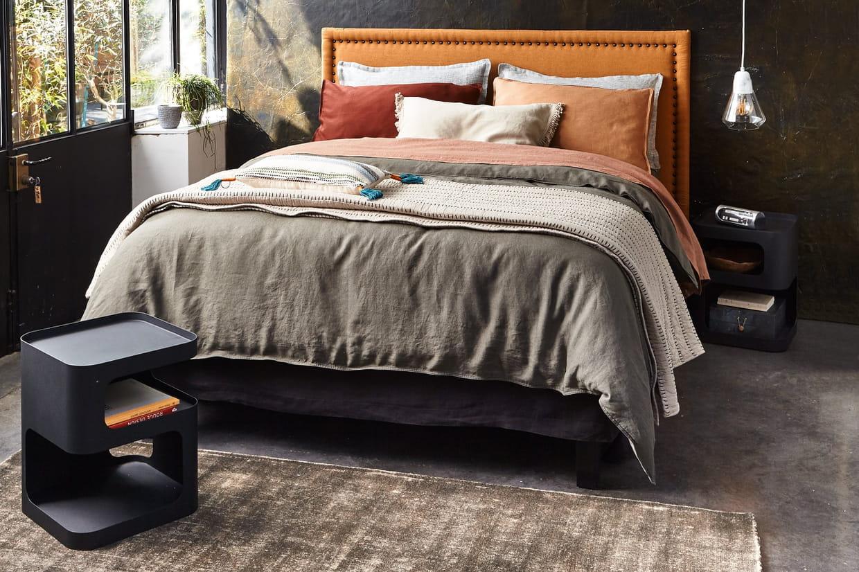 tables de chevet sandoval d 39 am pm. Black Bedroom Furniture Sets. Home Design Ideas