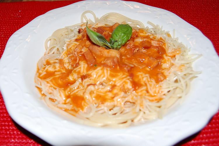 Sauce tomate de belle-maman