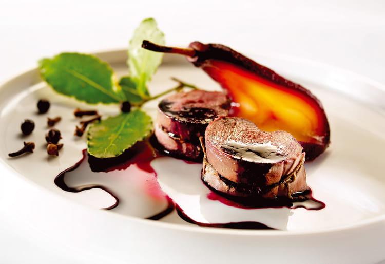 Recette de noisettes de chevreuil aux poires la recette facile - Cuisiner epaule de chevreuil ...