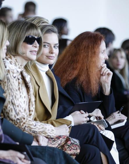 Anna Wintour, Margot Robbie et Grace Coddington