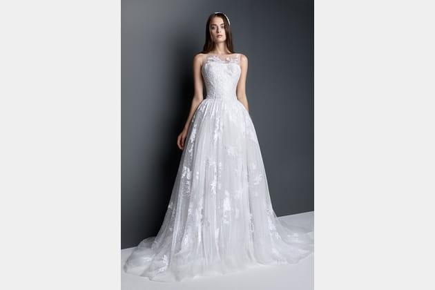 Robe de mariée vaporeuse de Georges Hobeika
