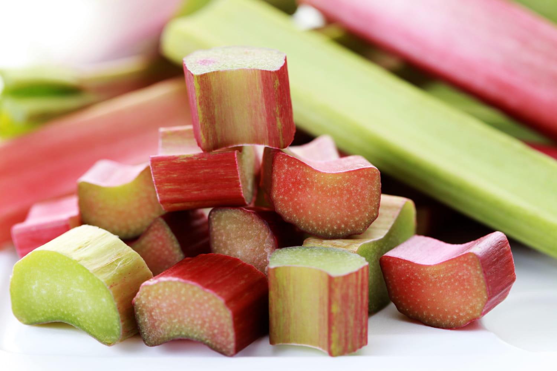 Comment enlever l'acidité de la rhubarbe?