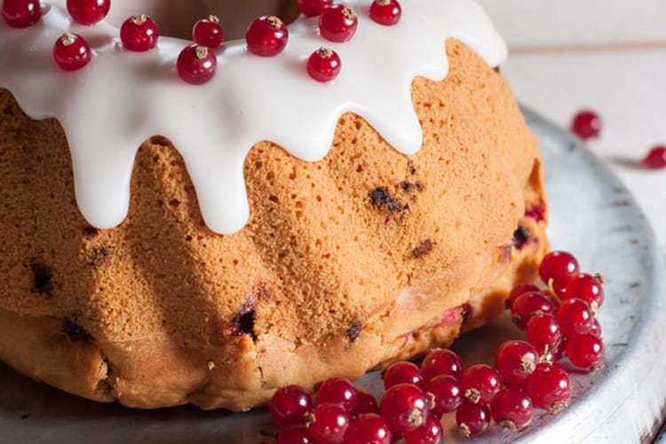 Cake moelleux aux fruits rouges