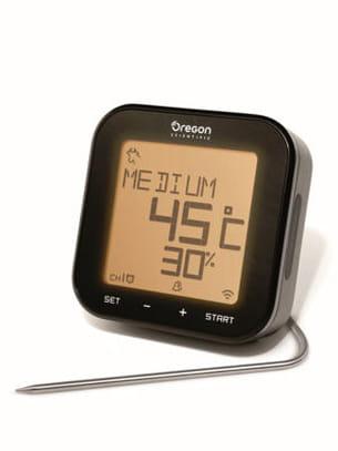 thermomètre de cuisson grill right de oregon scientific