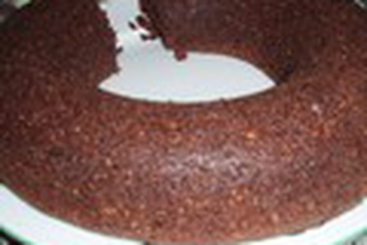 Gâteau chocolat-praliné