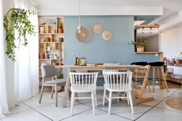 Une salle à manger familiale