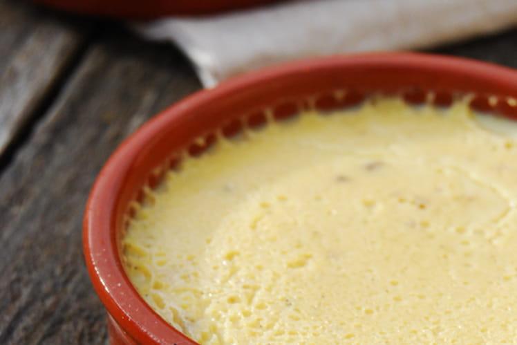 Crème renversée vanille caramel