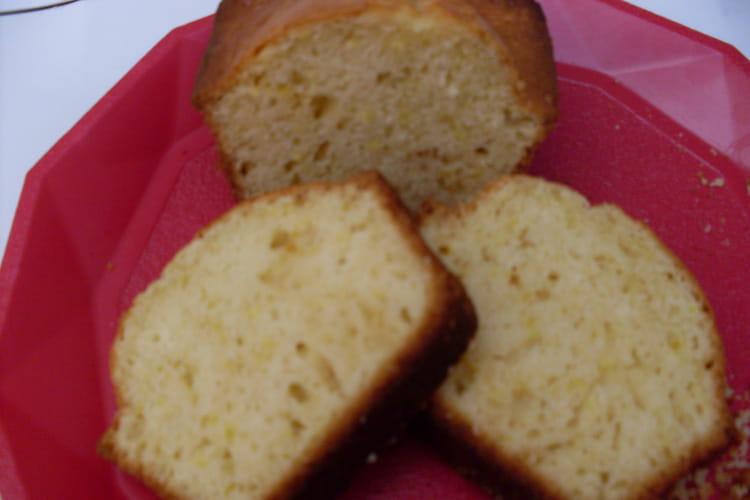 Cake au citron façon gâteau magique