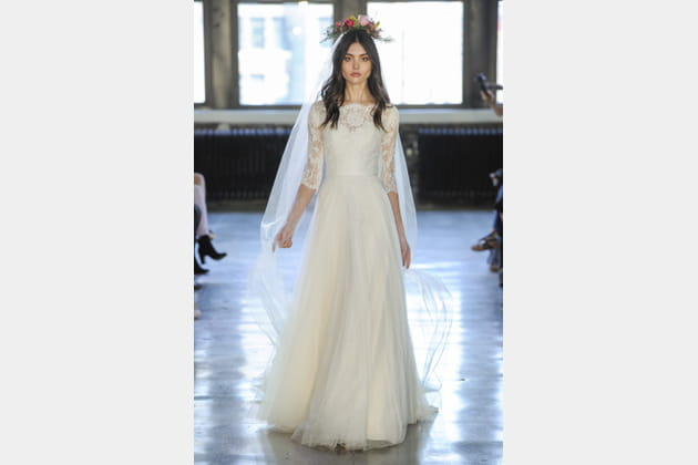 Robe de mariée plissée, Watters
