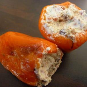 petits poivrons farcis au fromage