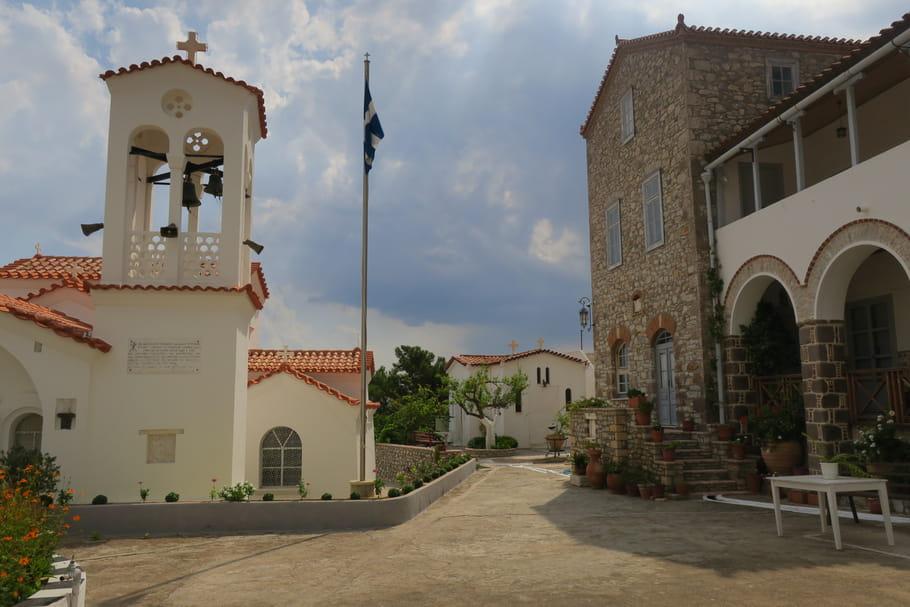 Excursion : visite du monastère d'Agioi Anargyroi
