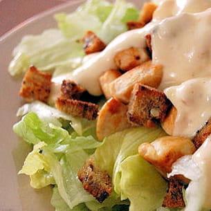salade césar rapide