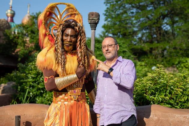 """Jean Reno au """"Festival du Roi Lion et de la Jungle"""""""