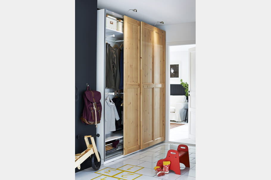 Dressing Ikea Portes Coulissantes