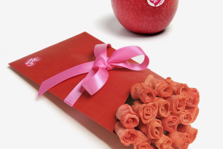 Roses à la pomme Pink Lady