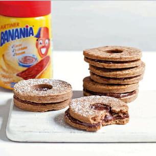 sablés au banania & à la cannelle
