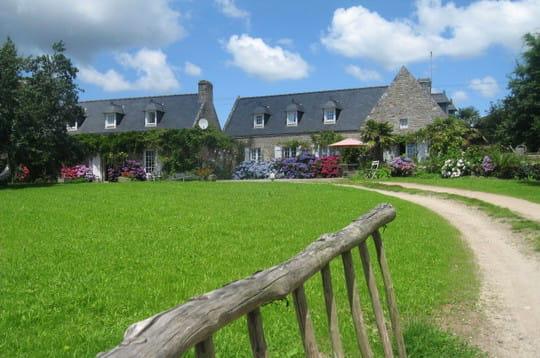 Le charme d'une ferme bretonne entre terre et mer