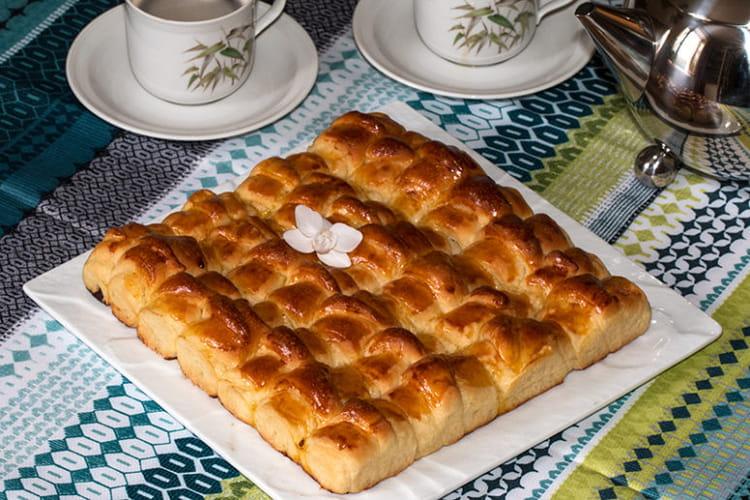 Préparation de la brioche croissants