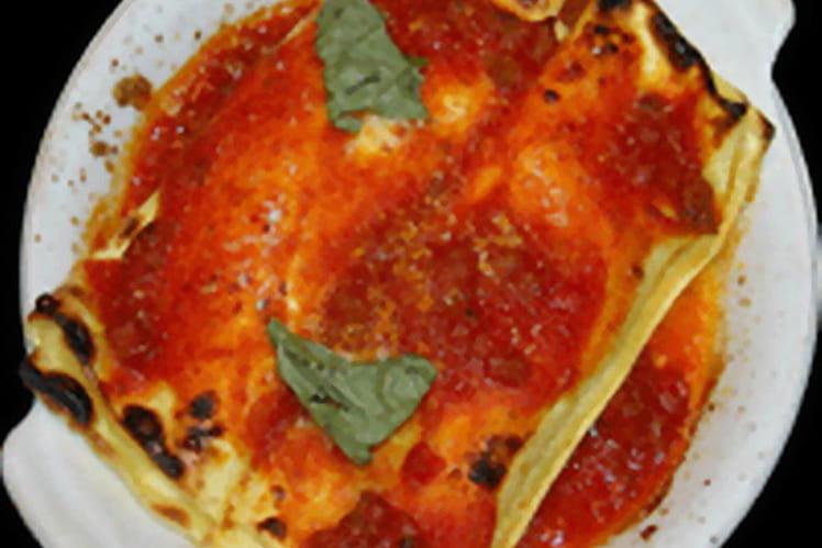 Cannellonis aux épinards et ricotta