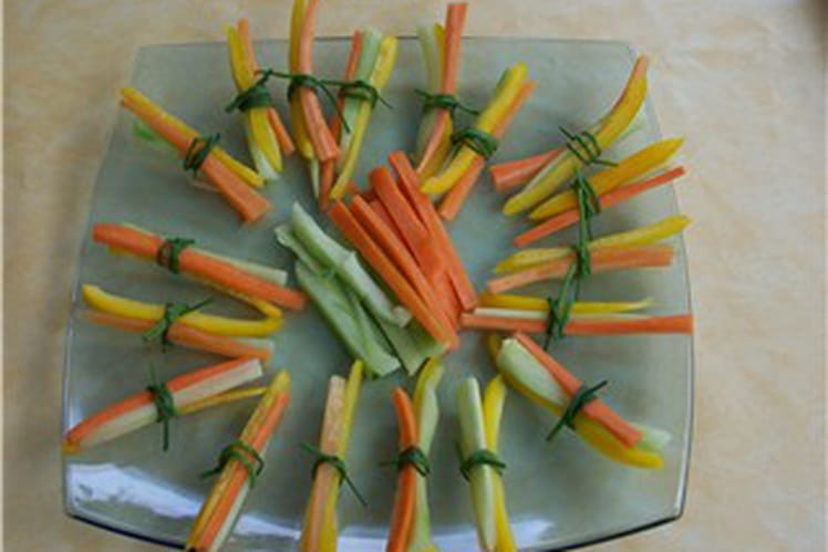 Dips de légumes