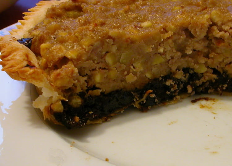 Recette de tarte pruneaux ch taignes la recette facile - Cuisiner les pruneaux ...