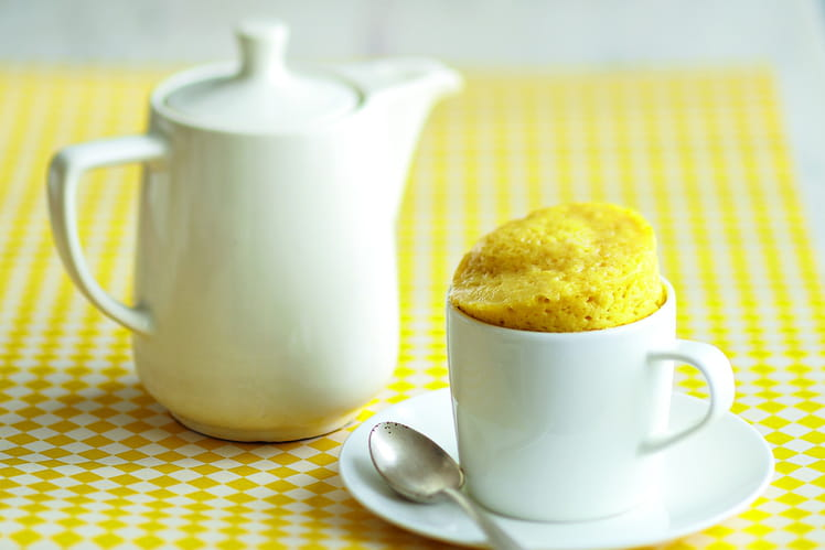 Mug Cake Citron au Sucre Pétillant Alsa®