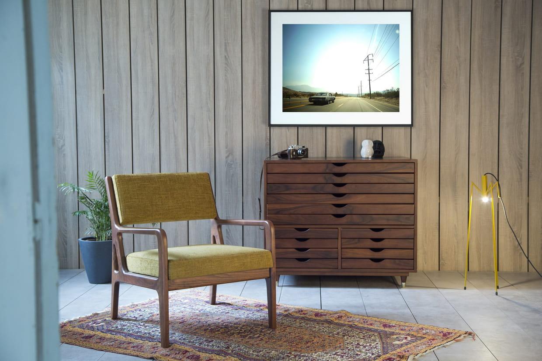 fauteuil par meghedi simonian pour kann x lola james harper. Black Bedroom Furniture Sets. Home Design Ideas