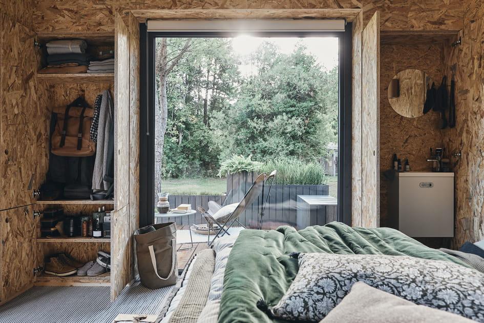 Un studio de jardin version chambre d'adolescent
