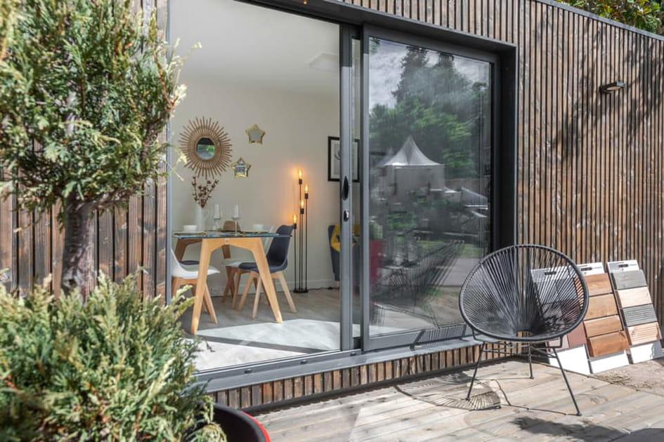 Un studio de jardin version hébergement locatif