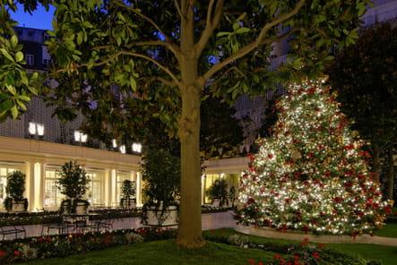 Le sapin de Noël du Bristol Paris
