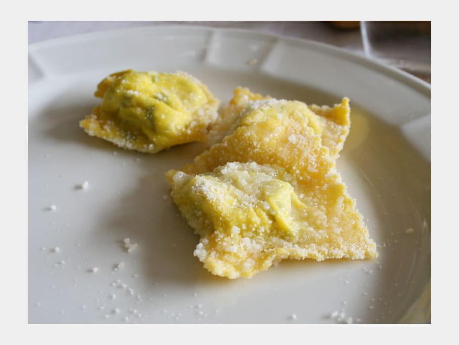 Tortelli d'erbetta alla parmigiana