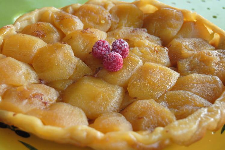 Tarte tatin aux pommes glacés au miel