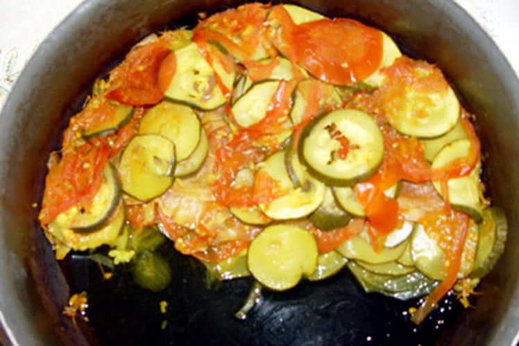 Courgettes au fenouil