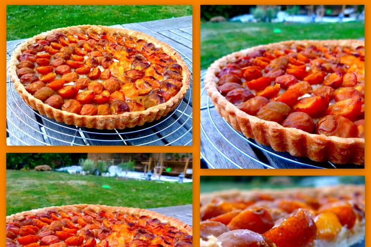 La classique tarte aux mirabelles