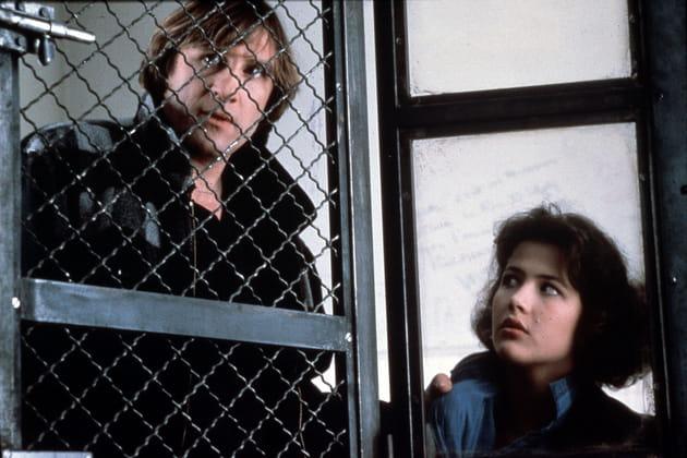 """En 1985dans """"Police"""" avec Gérard Depardieu"""