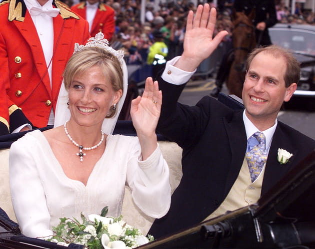 Le Prince Edward et Sophie Rhys-Jones
