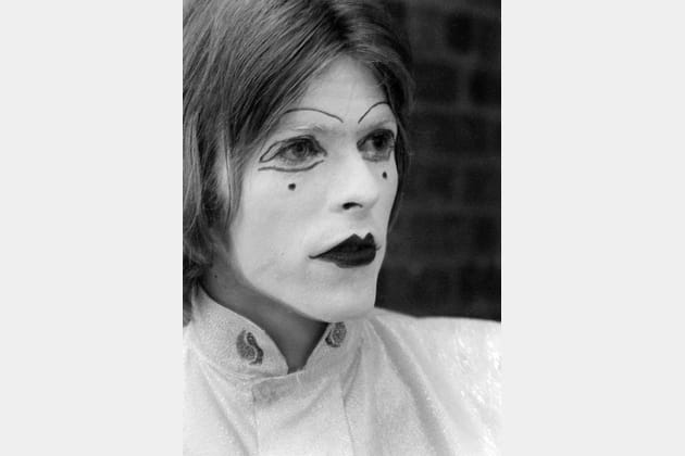 Mime grimé à Londres, 19 mai 1968
