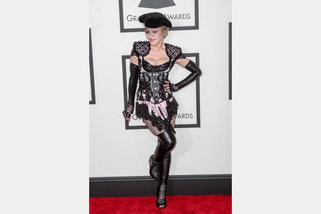Madonna le 8février 2015