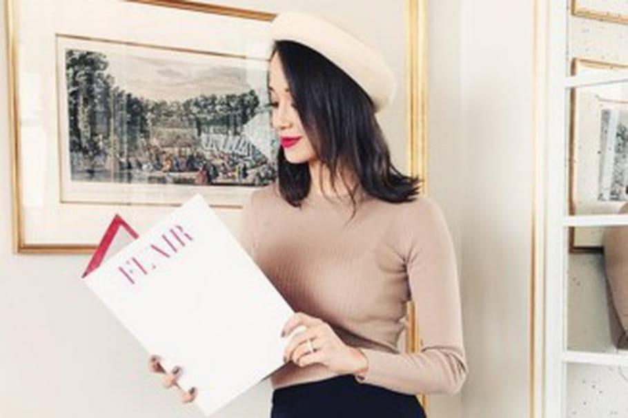 Le look blogueuse de la semaine : Lana de l'armoire de Lana en parisienne rétro