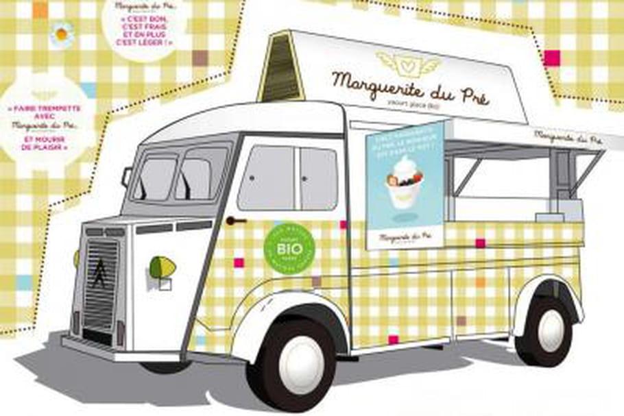 Marguerite du Pré : du bio en yaourt glacé