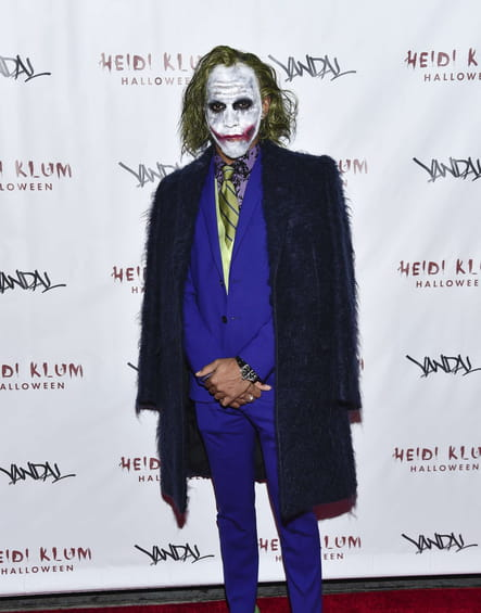 Lewis Hamilton en Joker