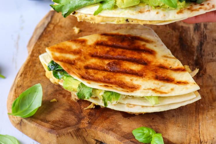 Tortillas façon quésadillas