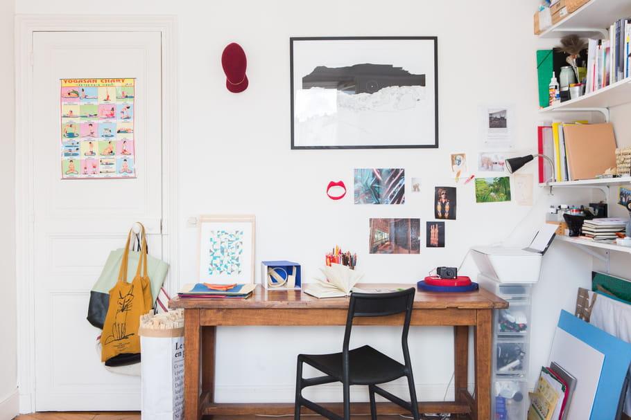 10 id es pour installer un coin bureau dans un petit espace for Coin bebe petit espace