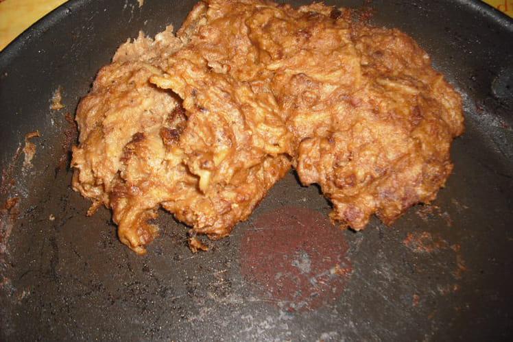 Parmentier de pâtes au porc sauce  rosé/échalotes