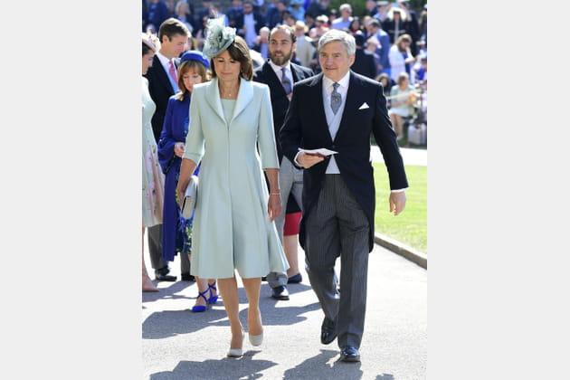 Carol et Michael Middleton, les parents de Kate et Pippa