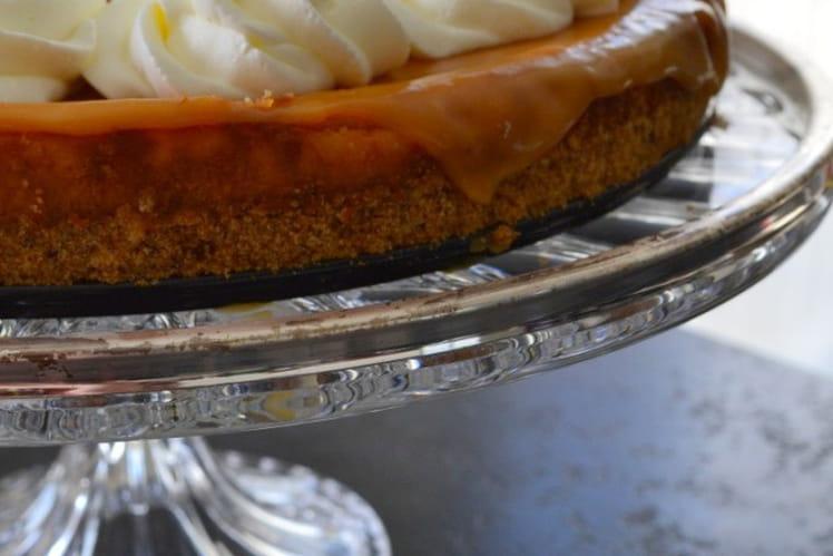 Cheesecake à la confiture de lait et au caramel beurre salé