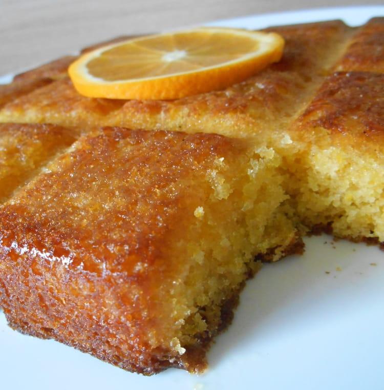 Sablé Gateaux Oum Walid: Recette De Gâteau à L'orange : La Recette Facile