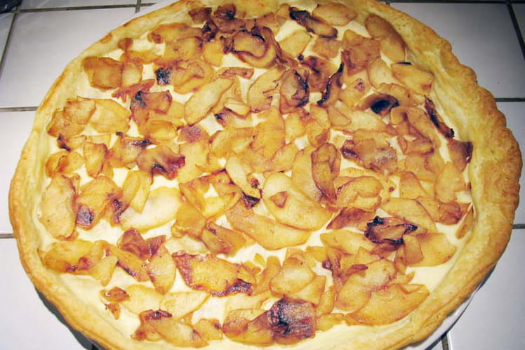Flam' pomme-cannelle