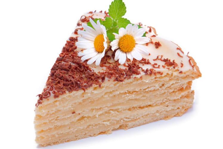Schichttorte ou gâteau à 20 couches